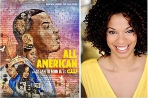 "<b> IT'S BACK: ""ALL-AMERICAN"" RETURNS TO THE CW NETWORK ON JAN. 18.</b>"